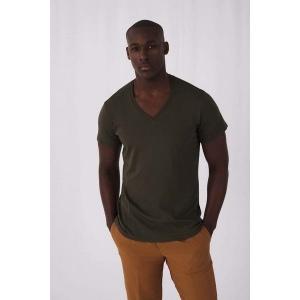 Produit personnalisable T-Shirt Inspire homme BIO col V