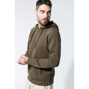 Produit personnalisable Sweat shirt capuche Kariban en coton organic