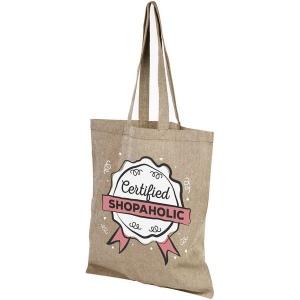 Produit personnalisé Sac shopping coton recyclé Sac personnalisable
