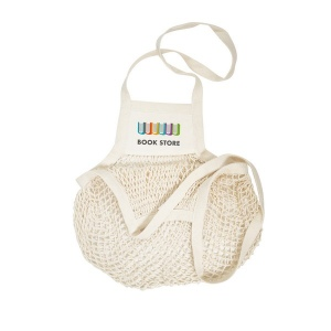 Produit personnalisable Sac shopping coton filet