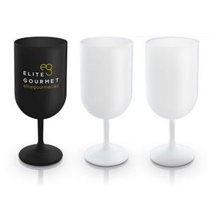 Produit personnalisable Verre à vin plastique