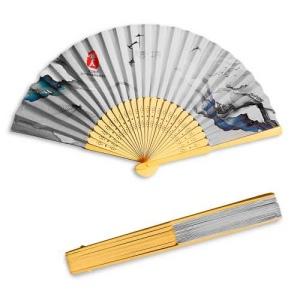 Produit personnalisable Eventail en Bambou