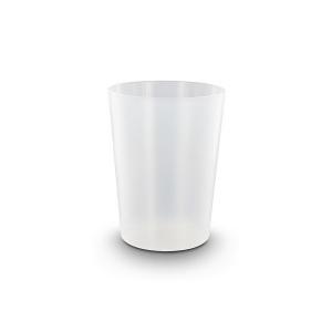 Produit personnalisable Gobelet plastique réutilisable type verre pour café