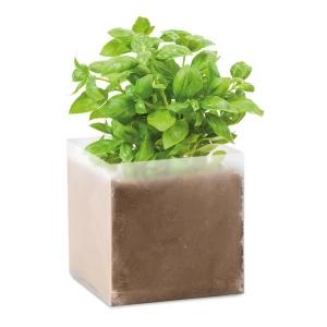 Produit personnalisé Substrat avec graines de Basilic Plantes
