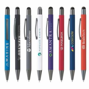 Produit personnalisé Stylo et stylet BOWIE Soft Touch publicitaire Stylo personnalisé