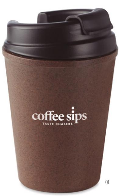 Tasse café eco-responsable personnalisable