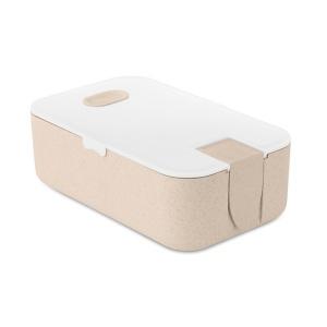 Produit personnalisé Lunchbox bio en paille de blé/ PP Lunchbox bio