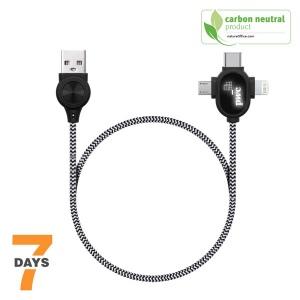 Produit personnalisé Câble de charge Chili transfert de donnés Cable charge lumineux