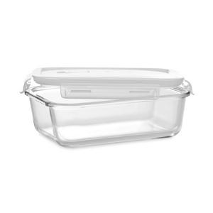 Produit personnalisé Lunchbox en verre avec couvercle à fermeture étanche Lunchbox bio