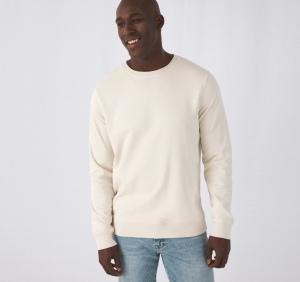 Produit personnalisé Sweat Shirt Col Rond Organic Sweat-Shirt personnalisé bio