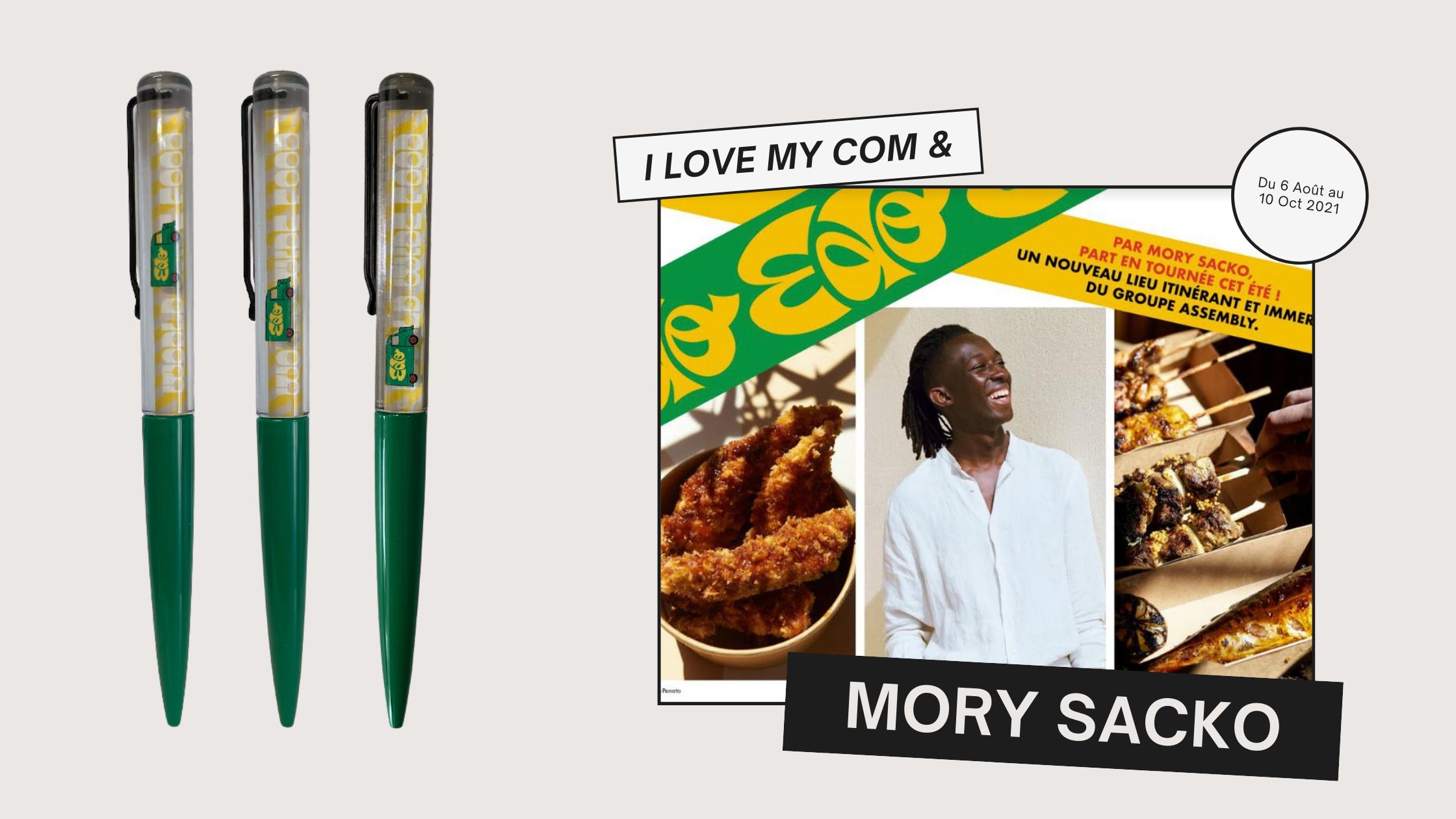 Mory Sacko + I Love My Com = 🖍🚌🧡